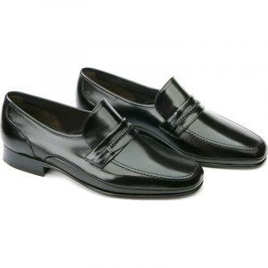 mocasines elegantes hombre negro