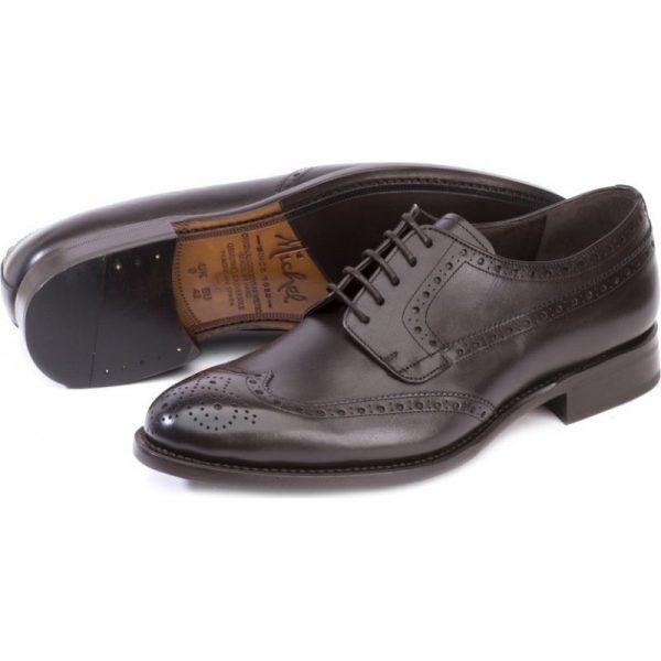 zapato vestir piel chocolate