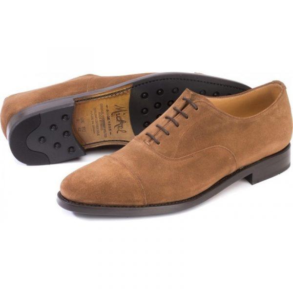 zapato vestir ante hombre