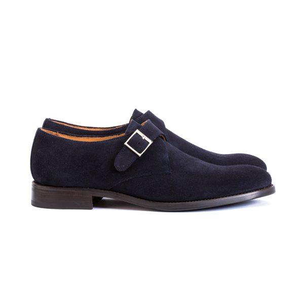 zapatos vestir ante azul