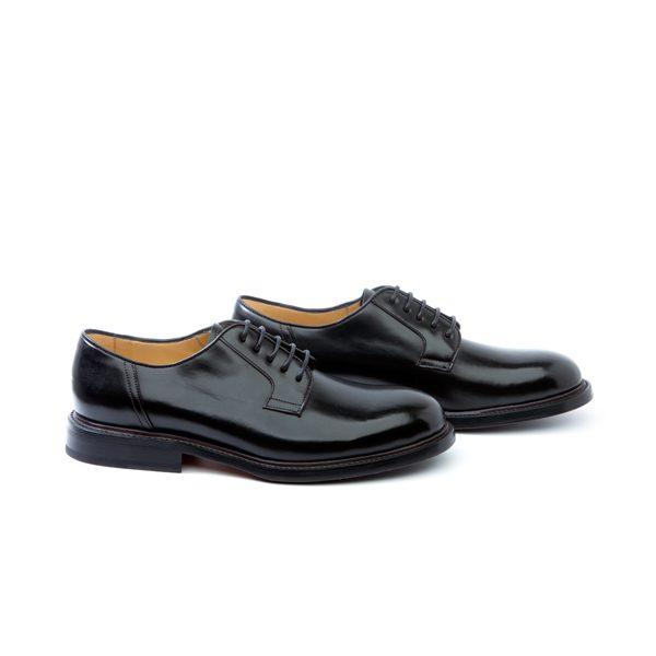 zapato piel color negro