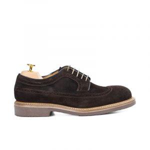 zapato piel casual cordones