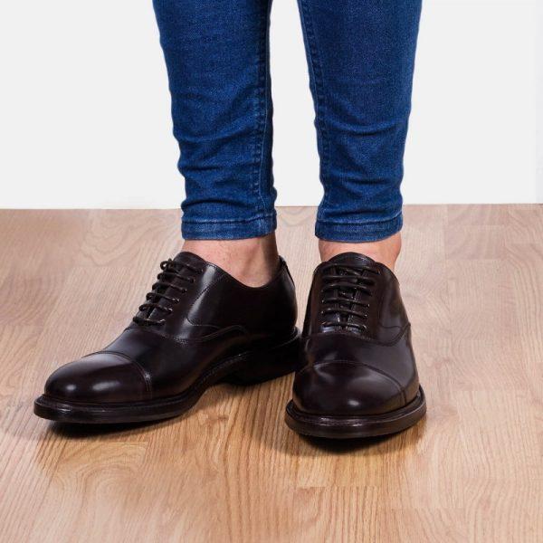 zapato piel cordones hombre
