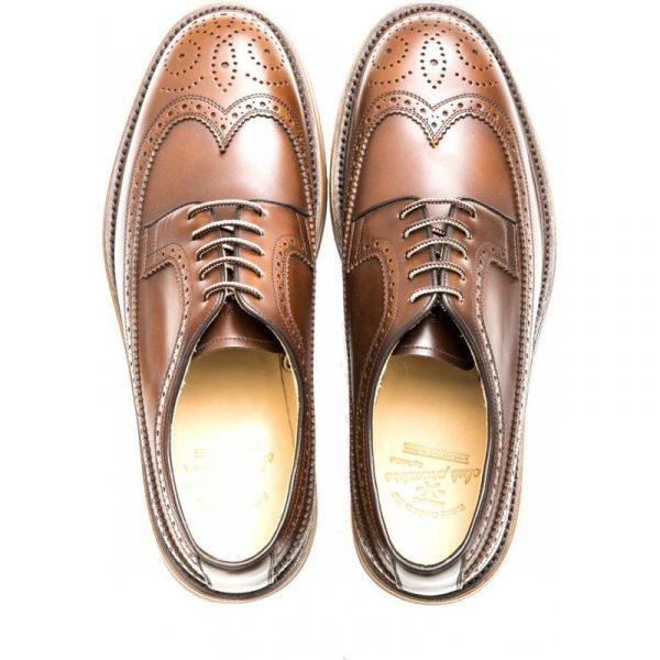 zapato piel color cuero