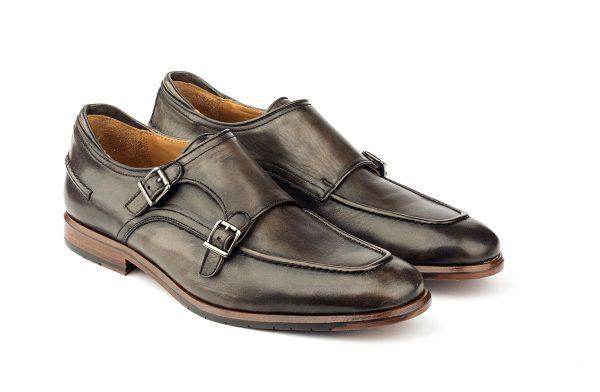 zapatos piel hebillas casual