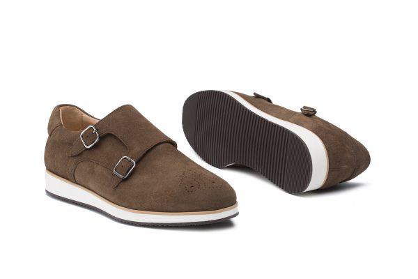 zapatos piel casual hebillas
