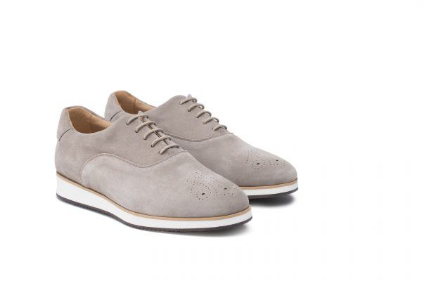 zapato casual de piel