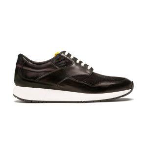 zapato deportivo piel negro