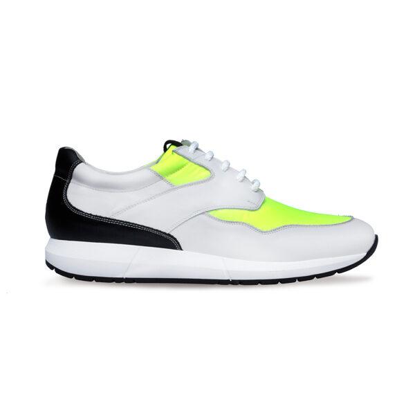zapato deportivo piel cordones